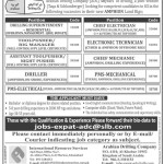 Arabian Drilling Company ADC Jobs 2015 Latest Advertisement