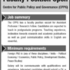 Former Krischan College Lahore FCC Jobs 2015 July Application Online Form Advertisement