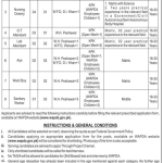 Wapda Hospital Peshawar Jobs 2015 Paramedical Staff July Advertisement Form Online