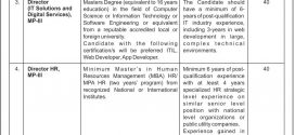 Ministry of Information Technology And Telecommunication Jobs 2017 January Advertisement Form