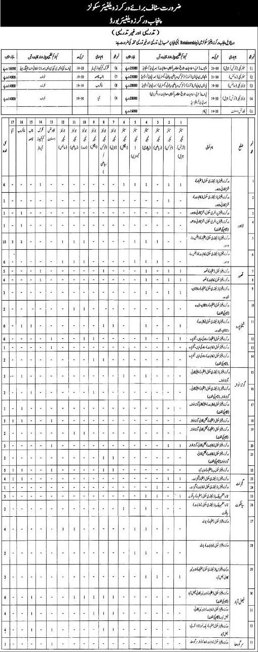 Punjab Local Government Board Jobs 2019 Job Advertisement