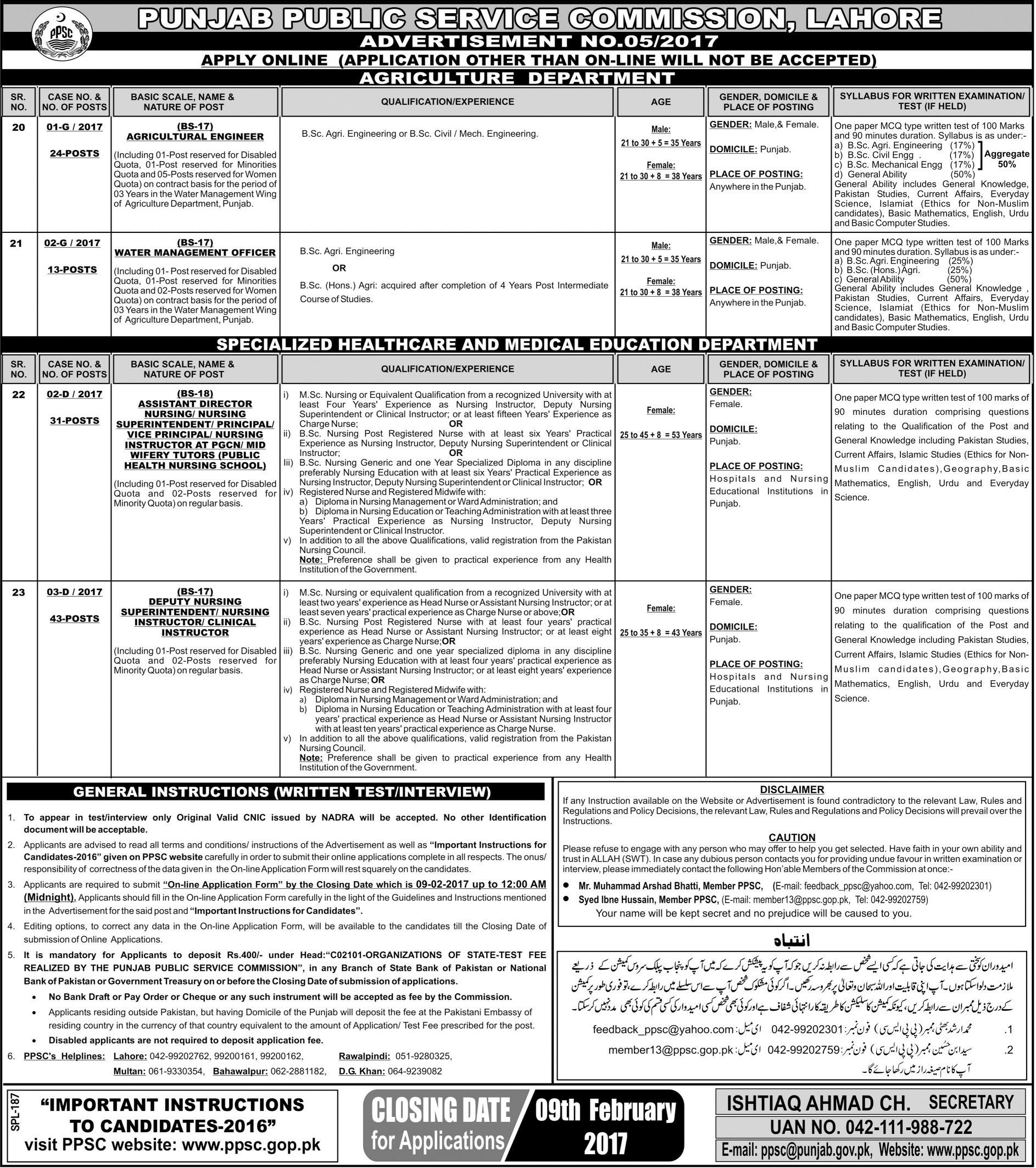Special Education Department Punjab Jobs 2017 Eligibility Criteria ...
