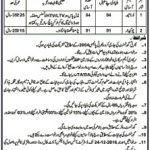 District Civil Defence office Lahore GOVT Jobs 2016 December Driver, Chowkidar Application Form