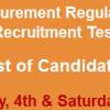 Balochistan Public Procurement BPPRA NTS Test Result 2016 4th, 5th March