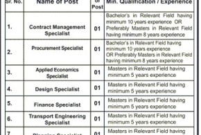 LDA Lahore Johar Town Office jobs March 2017 SPU Vacancies Application Form Last Date