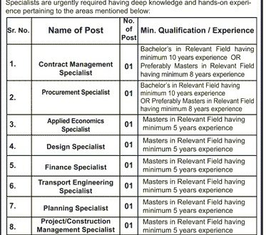 LDA Lahore Johar Town Office jobs March 2017 SPU Vacancies Application Form Last Date