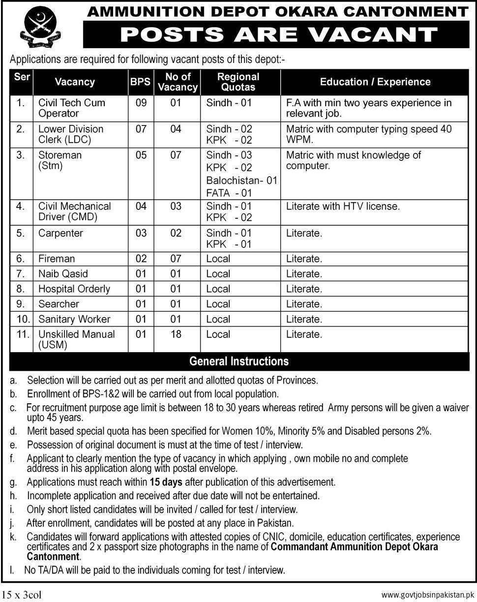 Army jobs 2018 technical and non technical vacancies jang pakistan army jobs 2018 technical and non technical vacancies jang newspaper application form falaconquin