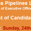 SNGPL Sui Gas Executive Officer Security NTS Test Result 2016 24th April