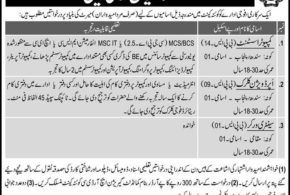 Pakistan Army ISI Intelligence Agency Jobs 2017 ISPR Clerk, Stenographer Form