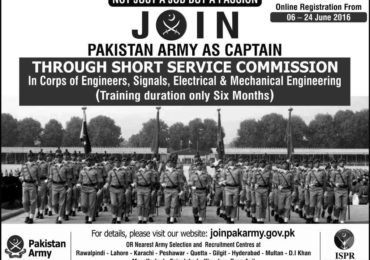 joinpakarmy.gov.pk Pakistan Army Latest Jobs 2018 How to Apply