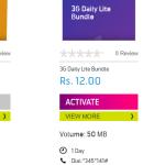Ramzan 2017 Telenor 3g Internet Packages
