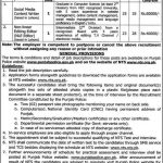 Punjab Police Department Lahore NTS Jobs 2016 August Advertisement Form