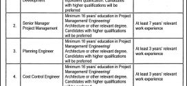 Infrastructure Development Authority Punjab Jobs 2017 January Application Form