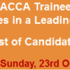 ACCA Trainee Program in Leading Commercial Bank NTS Test Result 2016 23rd October