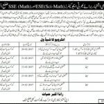 District Attock Schools Educators Jobs 2017 NTS Test Sample Paper Form Advertisement