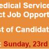 WAPDA Hospital Guddu Jobs NTS Test Result 2017 23rd July