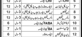 Mobile Health Unit Punjab Jobs 2017 Advertisement Government Vacancies