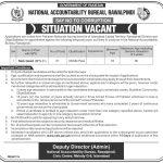 NAB Rawalpindi Jobs 2017 April Advertisement www.nab.gov.pk
