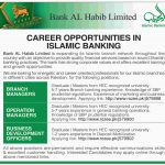 Bank Al Habib Limited Jobs 2017 Branch Manager, Operation Manager