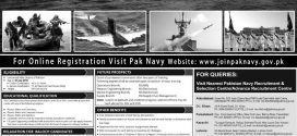 How to Join Pakistan Navy As Commissioned Officer 2018 After FSC, O/A Level PN Cadet Salary
