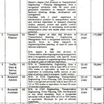 Transport Planning Unit Lahore Jobs 2017 Application Form TPU Advertisement