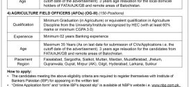 National Bank of Pakistan Trainee Officers OG II Jobs 2017, Cash Officer NBP Application Form