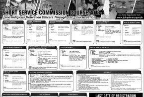 Join Pakistan Navy Short Service Commission Course 2018 A Online Registration November Advertisement
