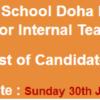 Pakistan International School Doha Qatar Teachers NTS Test Result 2018 17th, 18th February