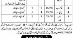 Punjab Cooperative Department Lahore Jobs 2017 July Advertisement Form