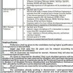LDA Lahore Project Base Jobs 2017 Technical Vacancies Form