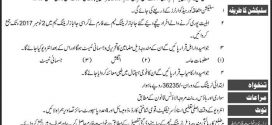 Janbaz Force Officer Jobs 2017 Pak Army 10 Core Application Form Written test Interview Date