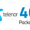 Telenor 4G Internet Packages 2018 Monthly, Weekly, Daily, 24hr Activation Code Charges