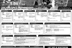 Pak Navy Short Service Commission 2018-A Jobs SSC Online Registration November Advertisement