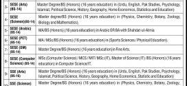 Punjab School Education Department NTS Jobs 2017-18 Application Form