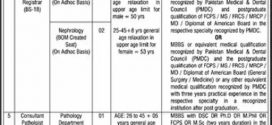 Allama Iqbal Medical College Lahore Jobs 2017 Professor, Medical Officer Jinnah Hospital Government Vacancies