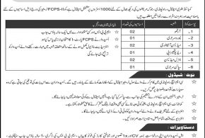 CMH Rawalpindi Hospital Jobs 2018 For MBBS, FCPS Application Form