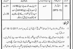District and Session Court Karachi Jobs 2017 December Advertisement Application From Interview Date