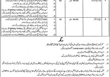 Special Protection Unit Punjab Police Lahore SPU Jobs 2018 Application Form