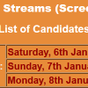 APS Seven Streams Jobs NTS Test Result 2018 6th, 7th, 8th January Answer Keys