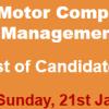 Pak Suzuki Motor Management Trainees Jobs NTS Test Result 2018 21st January