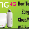 How To Change Zong 4g Device Wifi Password 2018 User Name Reset Setting Login