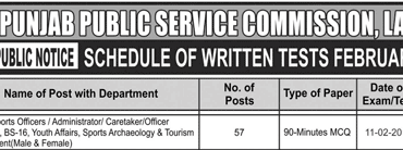 PPSC Tehsil Sports Officer Written Test Result 2018 Check Online By Roll No, CNIC