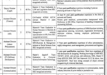 Punjab Education Department NTS Jobs 2018 March Advertisement Application Form Download