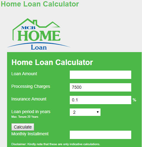 Bank islam car loan calculator pakistan